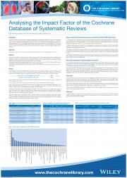 Analysing the Impact Factor of the Cochrane Database of Systematic Reviews (CDSR)