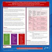 Assessing generalizability of findings in systematic reviews of public health interventions: Methods of the US Community Preventive Services Task Force